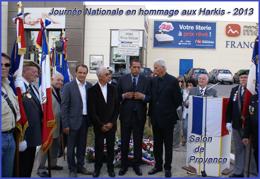 Hommage nationale aux harkis du 25 septembre 2013 salon de provence site - Association salon de provence ...